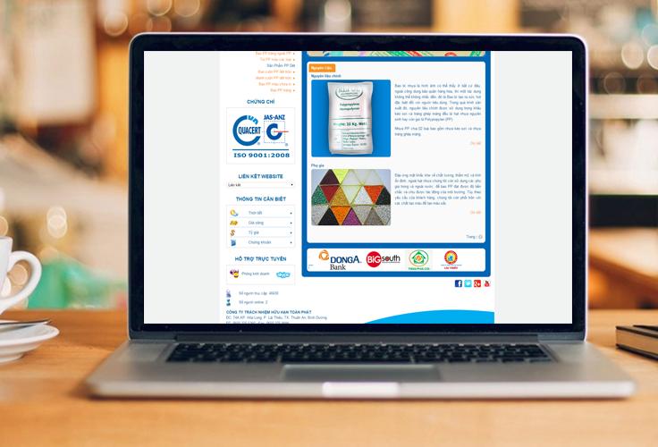 Thiết kế giao diện website độc quyền